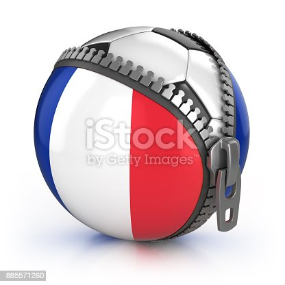 istock France football nation 3d isolated illustration 885571260