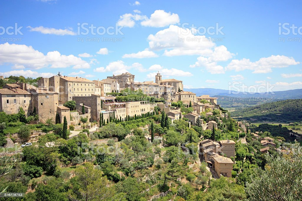 France - Gordes stock photo