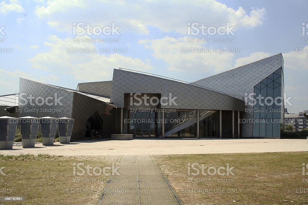 France: Juno Beach Centre at Courseulles-sur-mer stock photo