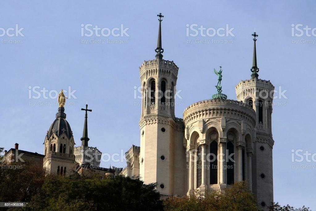 France, lyon - basilique de notre dame de fourière - Photo