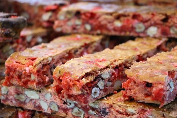 France, lyon - biscuit aux pralines stock photo