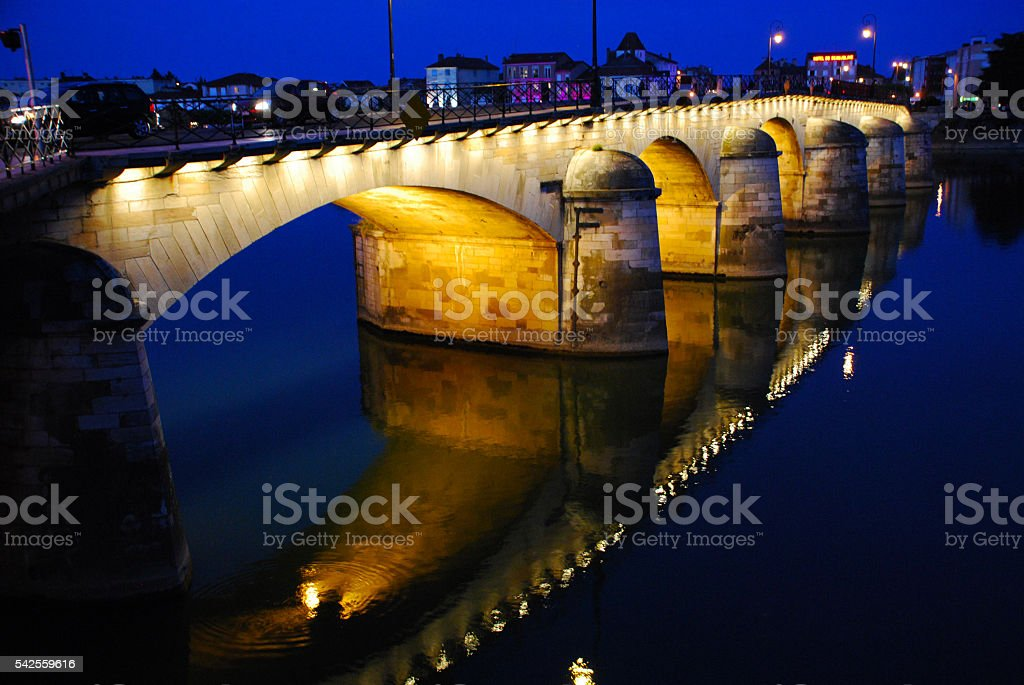 France - Macon stock photo