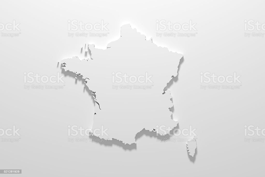 France Carte - Photo