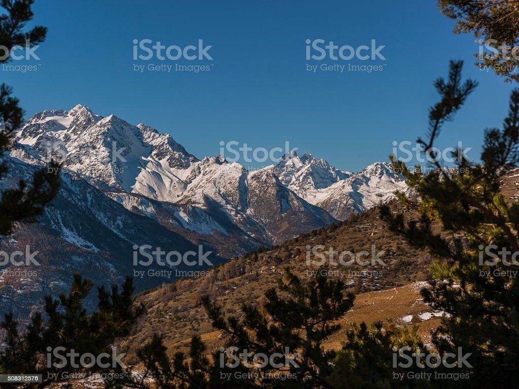 France. Massif des Écrins (Écrins National Park) stock photo