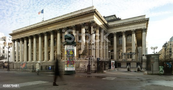 paris, france - december, 29 2012: The Paris Bourse (or