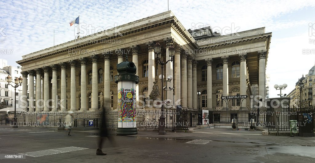 France, Paris la bourse - Photo