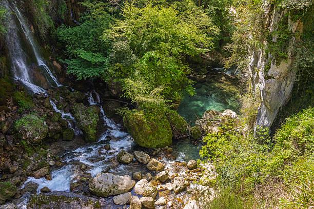 La Francia. Provenza. Dipartimento delle Alpi Maritimes. Il Gorges du Loup - foto stock