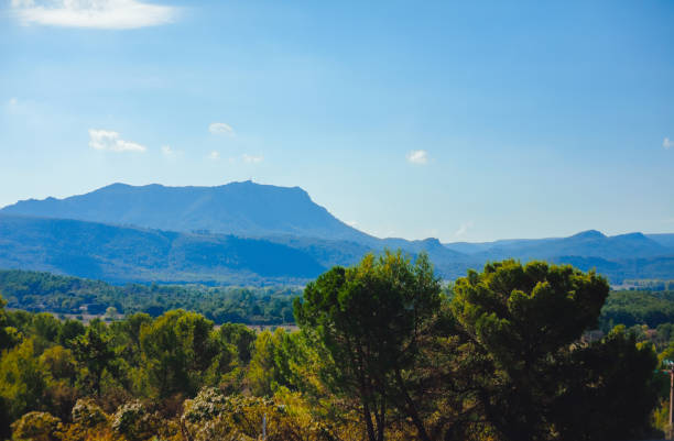 France, Provence. Landscape. Park view France, Provence Landscape Park view Horizontal var stock pictures, royalty-free photos & images