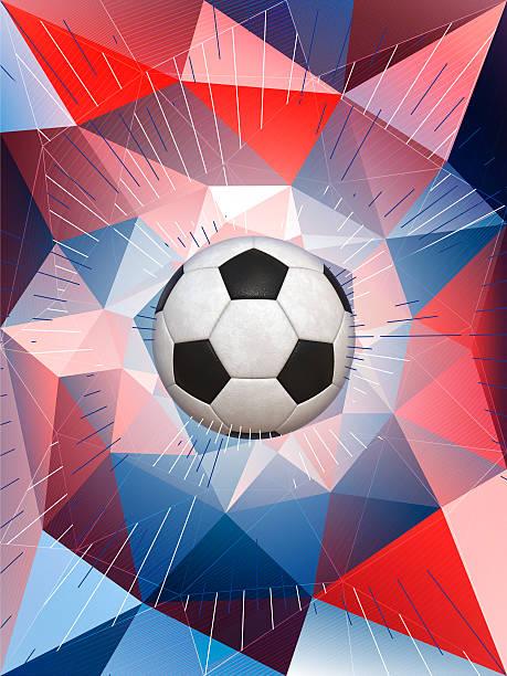 frankreich fußball ball hintergrund  - fußball poster stock-fotos und bilder