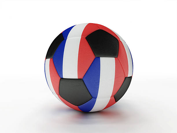 France soccer football ball stock photo