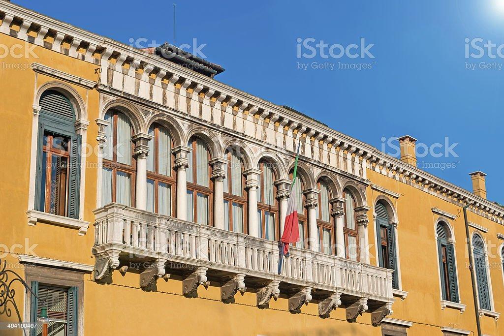 Franchetti Palace stock photo