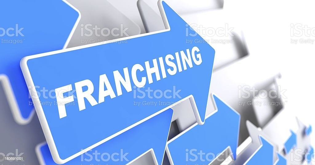 Franchising. Business Background. stock photo