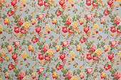 istock Francine Floral Medium Vintage Fabric 157640554