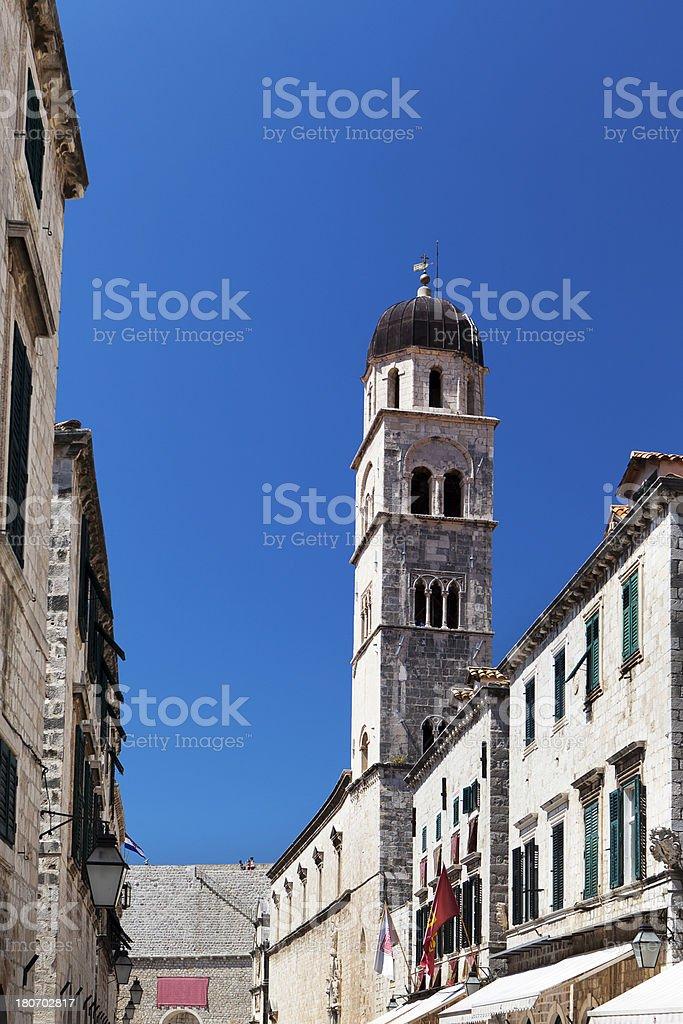 Franciscan Monastery in Dubrovnik, Croatia royalty-free stock photo