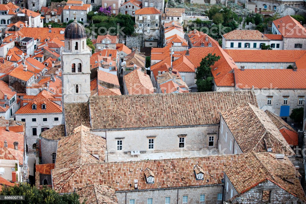 Franciscan Monastery in Dubrovnik stock photo