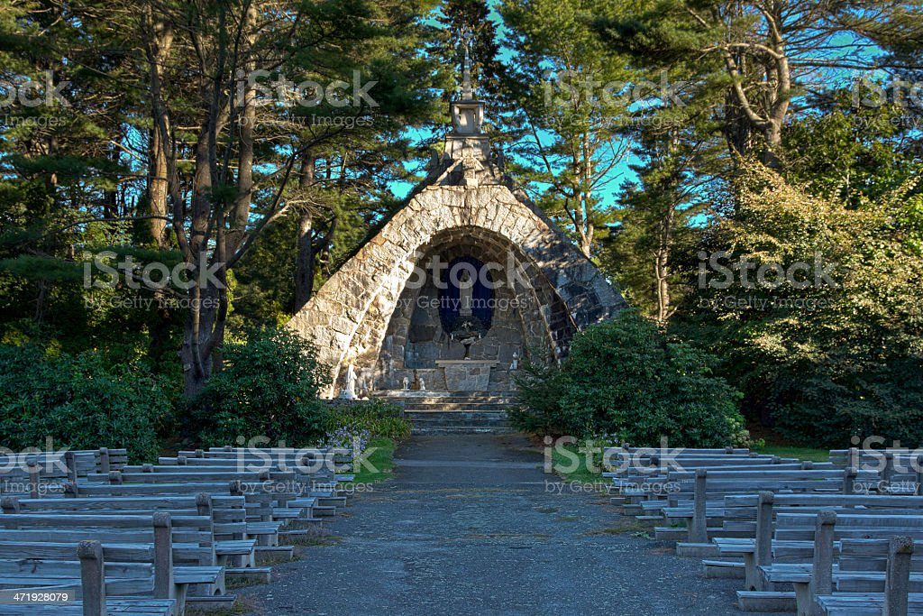 Franciscan Monastery, Kennebunkport, Maine. stock photo