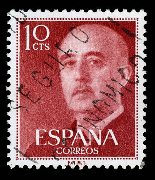 Francisco Franco Briefmarke, Spanien – Foto