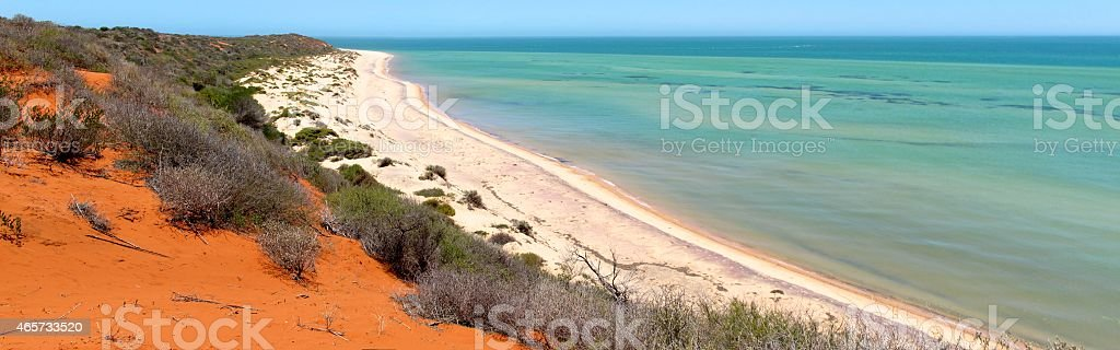 Francois Peron National Park stock photo