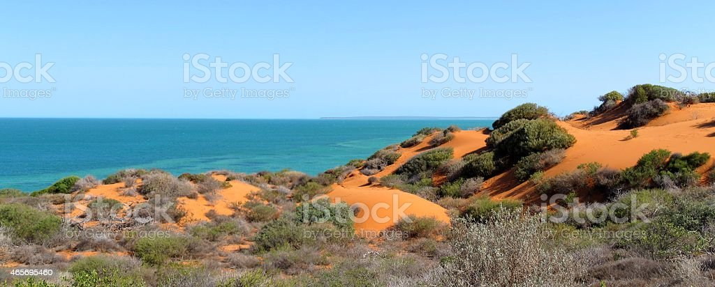 Francois Peron National Park, Shark Bay, Western Australia stock photo