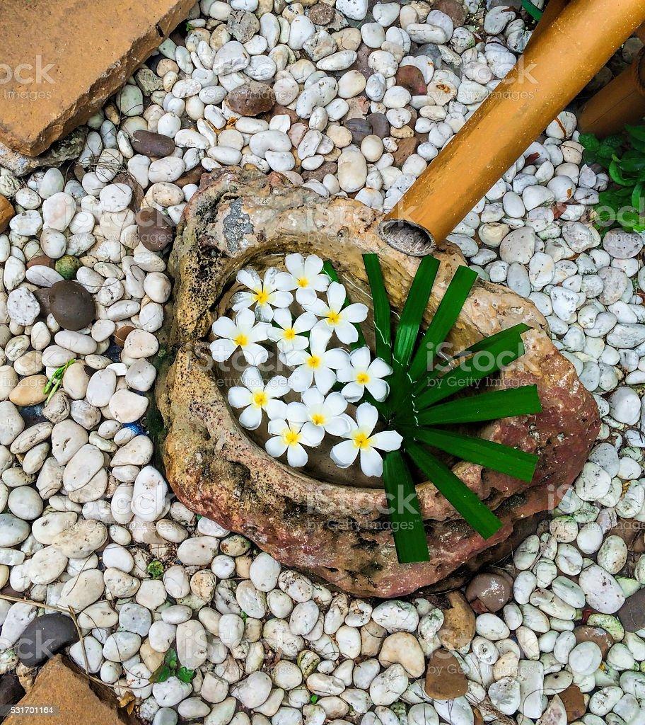 Jardines con piedras blancas amazing download image x for Piedras blancas para decorar
