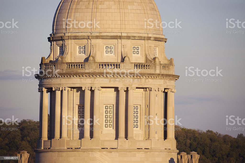 Frankfort, Kentucky - State Capitol Building royalty-free stock photo