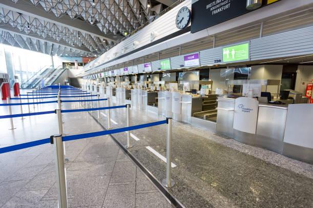 Flughafen Frankfurt - Leerluftterminal – Foto