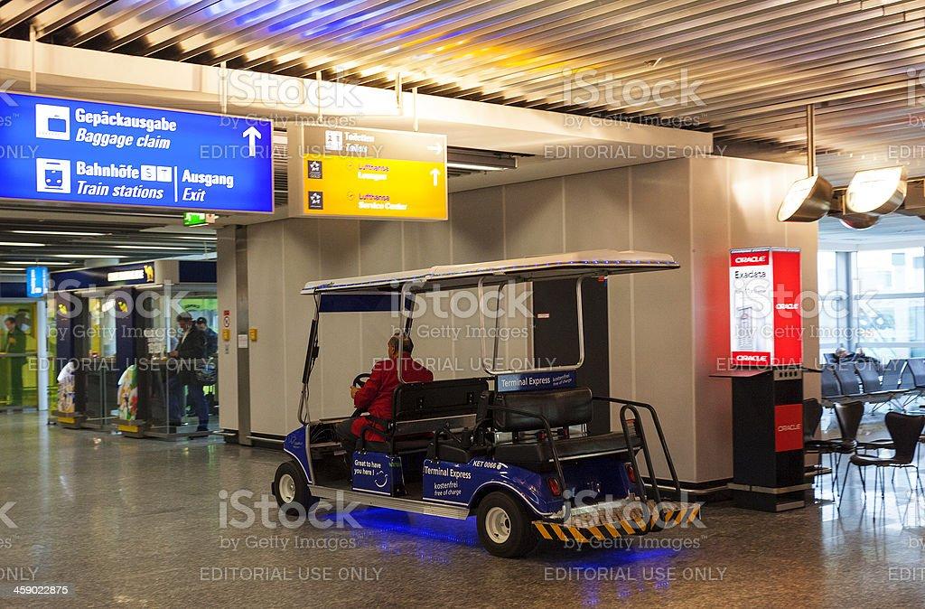 Frankfurt Airport. royalty-free stock photo