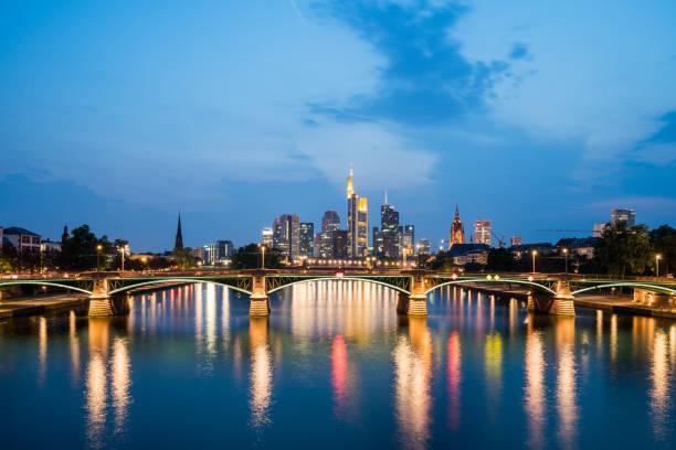 Frankfurt A.m. Stadtansicht – Foto