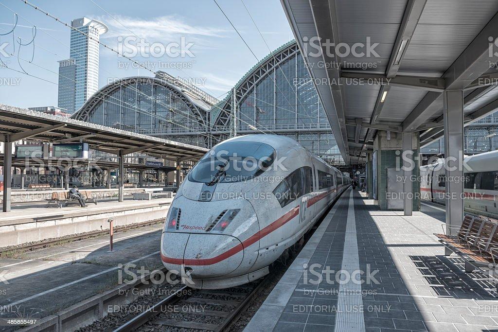 ICE  Frankfurt am Main Germany stock photo