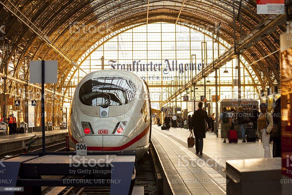 Frankfurt am Main Hauptbahnhof royalty-free stock photo
