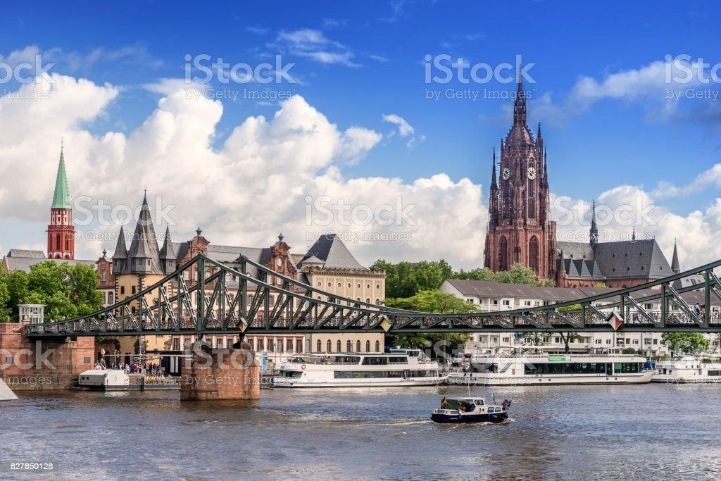Frankfurt Am Main in Germany stock photo