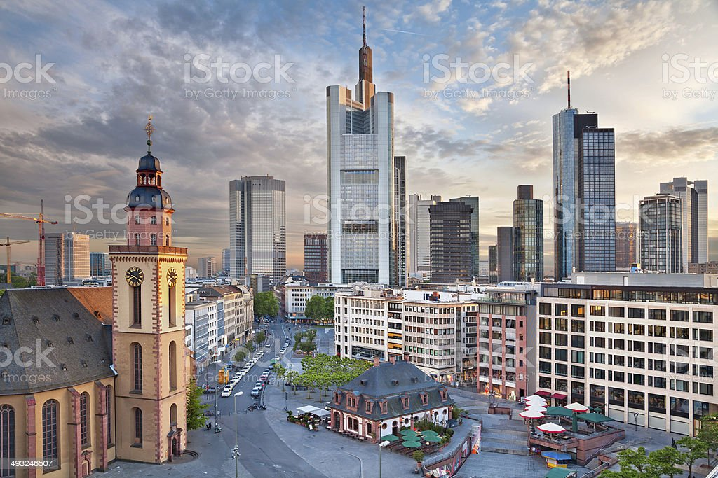Frankfurt am Main. stock photo