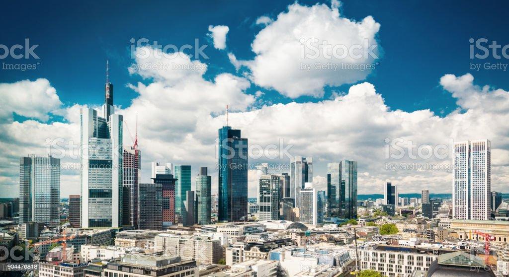 Skyline von Frankfurt am Main – Foto
