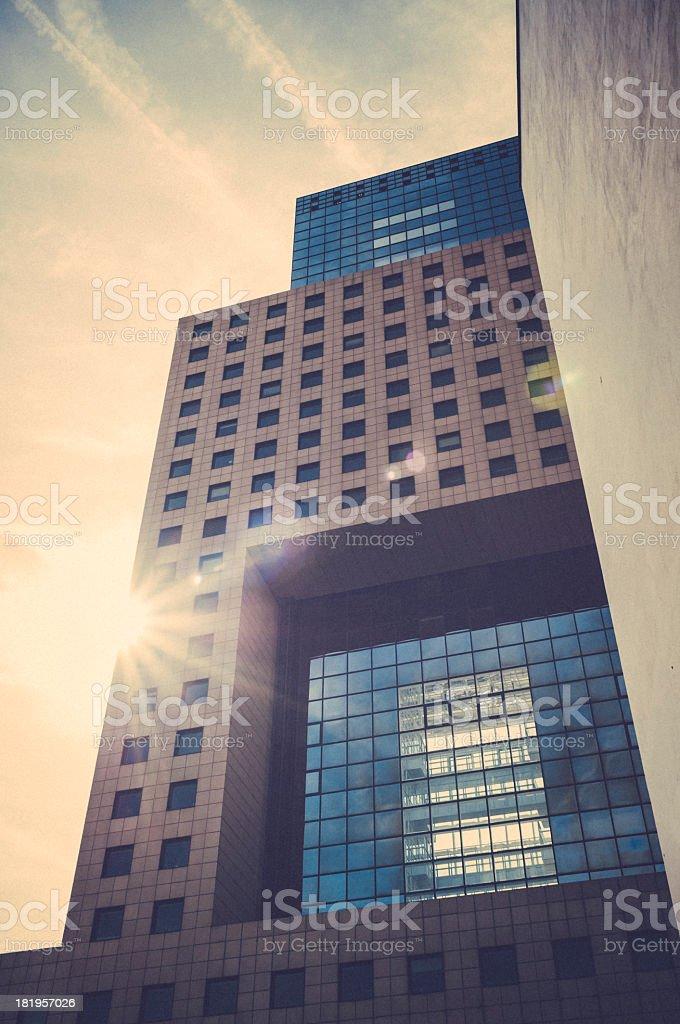 Frankfurt am Main - Torhaus royalty-free stock photo