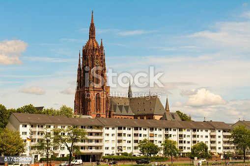 Frankfurter Dom Cathedral Frankfurt am Main Germany