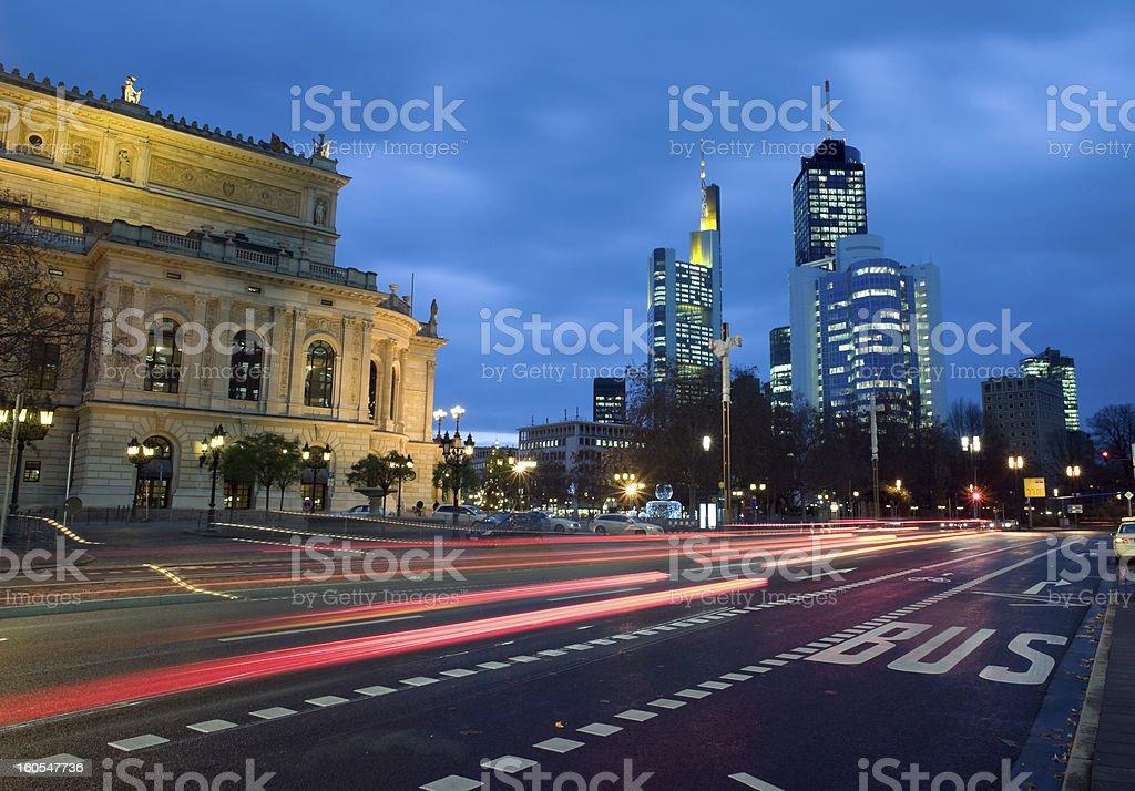 Frankfurt, Germany, Old Opera House, Alte Oper royalty-free stock photo