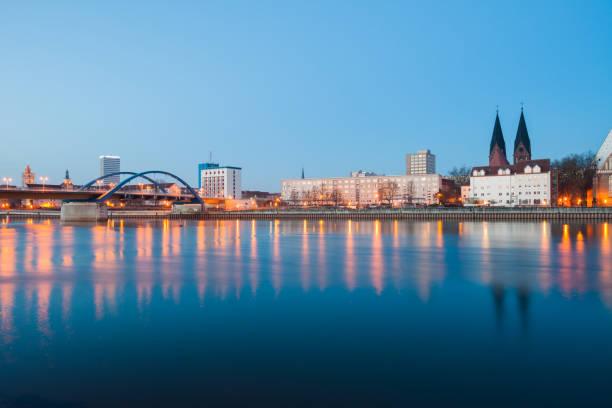 프랑크푸르트 (오데르), 독일 - 브란덴부르크 주 뉴스 사진 이미지
