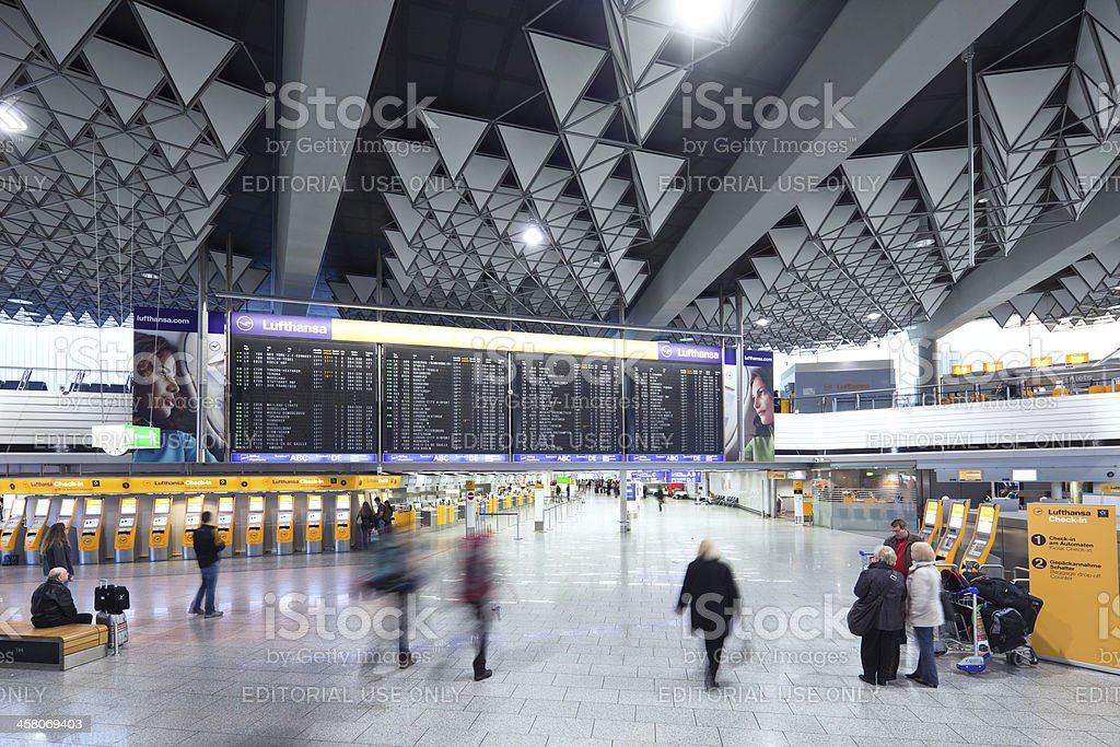 Internationaler Flughafen Frankfurt – Foto