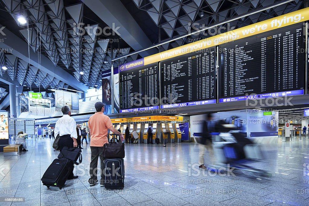 Frankfurt International Airport royalty-free stock photo