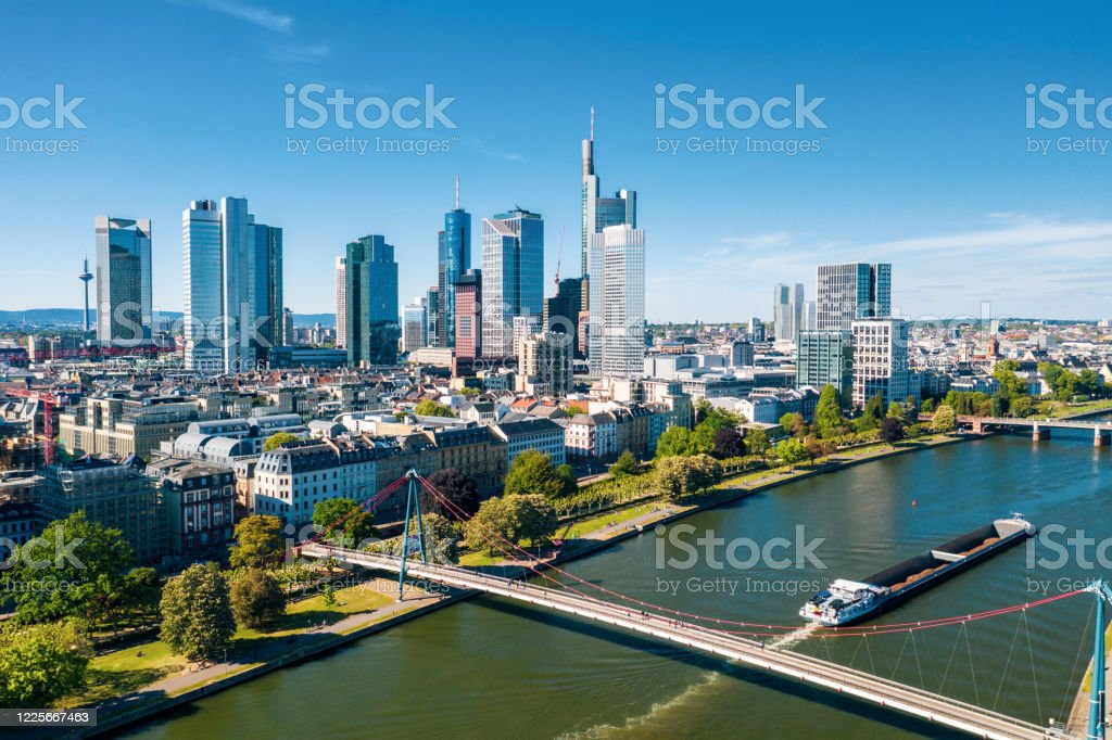 Frankfurt - Lizenzfrei Architektur Stock-Foto