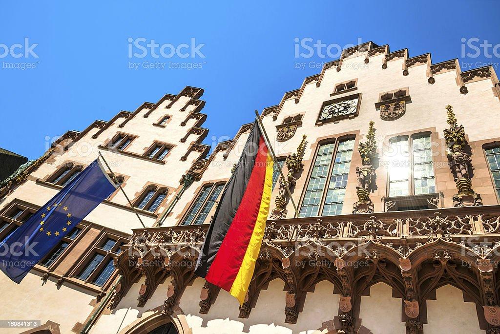Frankfurt Römer royalty-free stock photo
