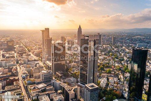 istock Frankfurt Skyline, Germany 611094126