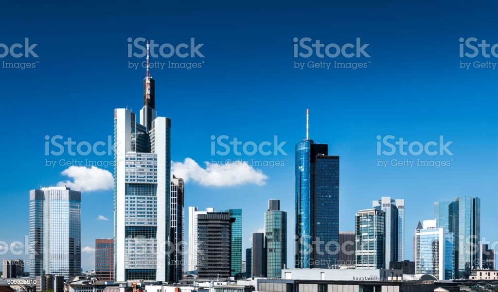 Skyline von Frankfurt – Foto