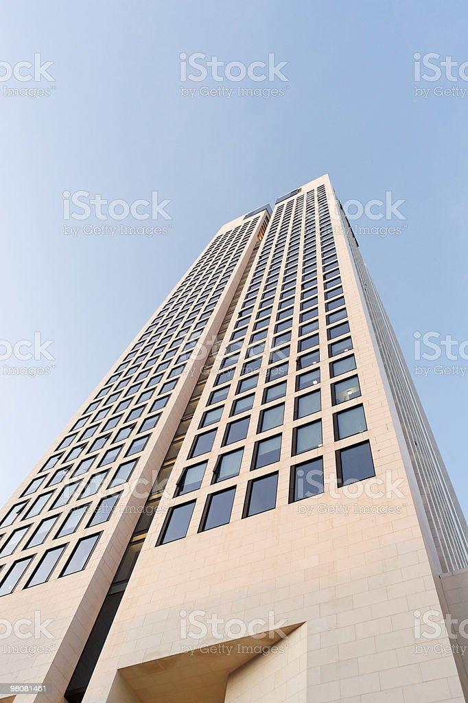 Frankfurt skyscraper royalty-free stock photo