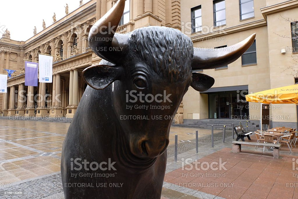 フランクフルト証券取引所ブル -...
