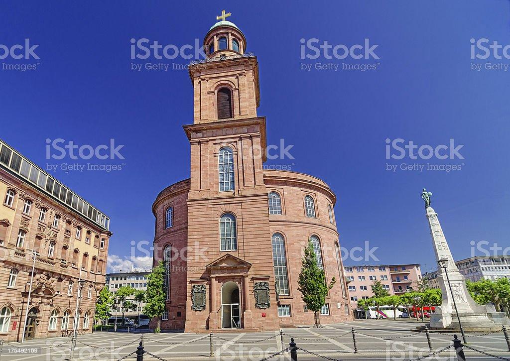 Frankfurter Paulskirche (St. Paul's Church Frankfurt) stock photo