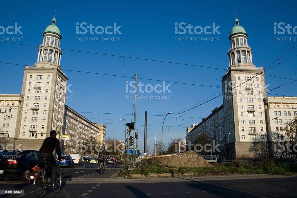 Frankfurter Tor stock photo