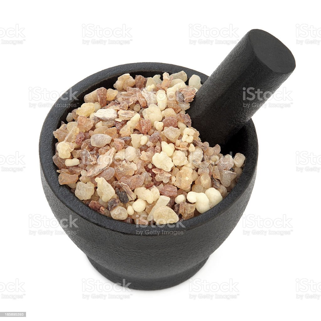 Frankincense and Myrrh royalty-free stock photo