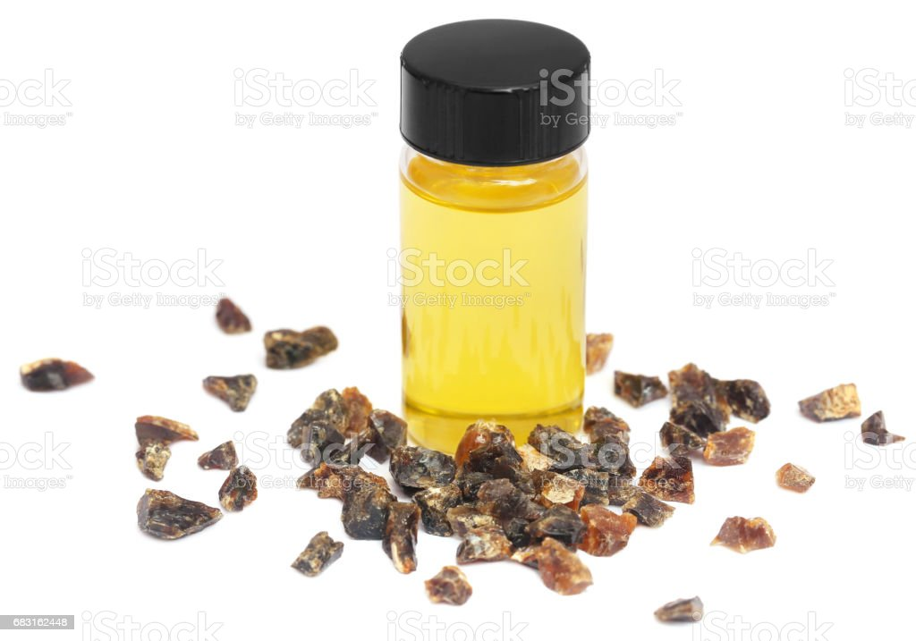 Frankincense dhoop with essential oil 免版稅 stock photo