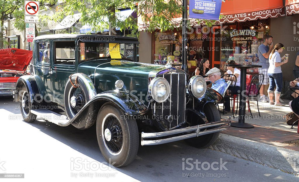 1919 Franklin Air Cooled Classic Car stock photo
